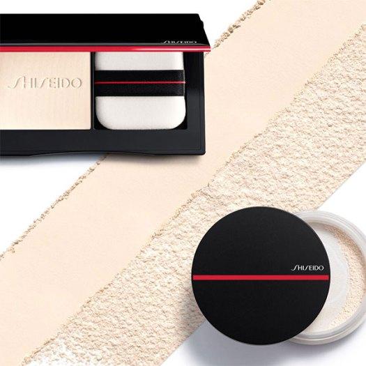 Shiseido Synchro Skin Invisible Silk Pressed Powder and Synchro Skin Invisible Silk Loose Powder, $70 each