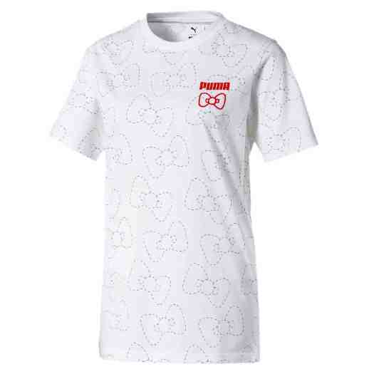 PUMA x HELLO KITTY AOP Tee in PUMA White ($59)