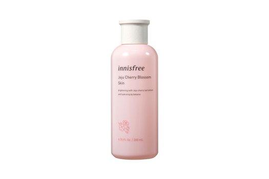 innisfree Jeju Cherry Blossom Skin, $25