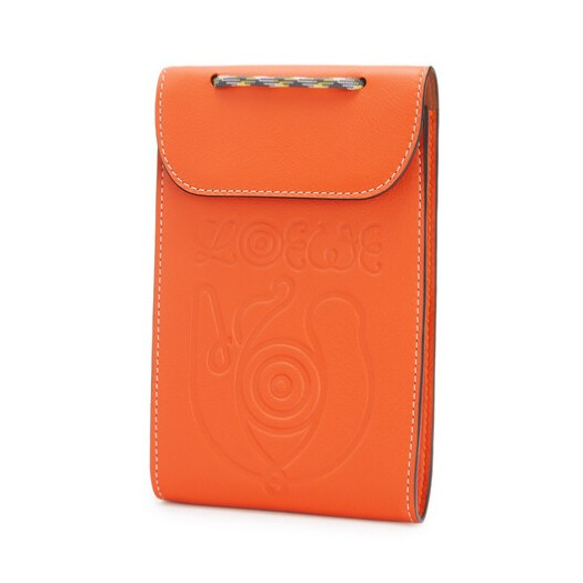 Eye/LOEWE/Nature Neck Pocket Pouch Orange $690