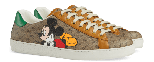 Disney x Gucci GG Canvas Ace Sneakers $935