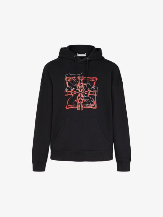 Givenchy Rat Sign Hoodie $1,650