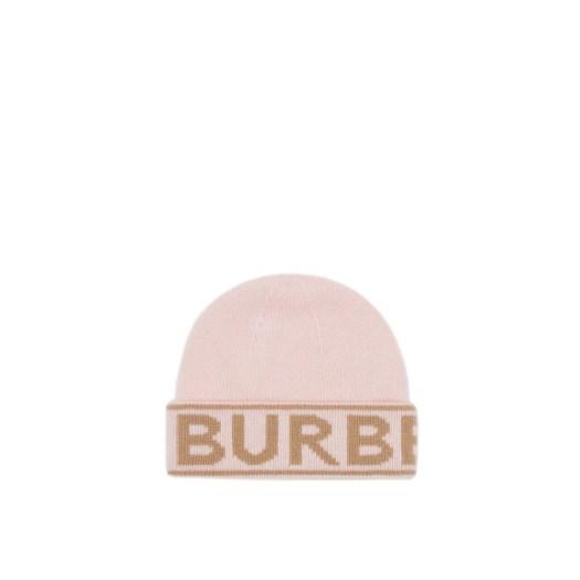 BURBERRY Logo Intarsia Cashmere Beanie $370