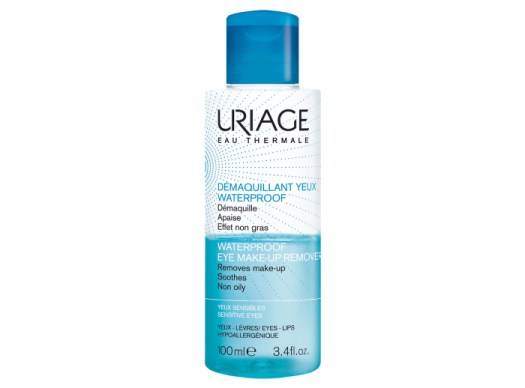 Uriage Waterproof Eye Makeup Remover 100ml, $20. Available at Lookfantastic