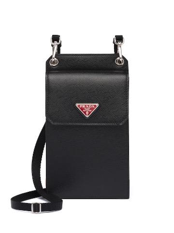 Prada Saffiano Leather Cellphone Case $727