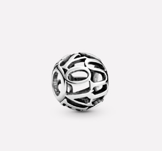 Pandora Openwork I Love You Script Charm $39