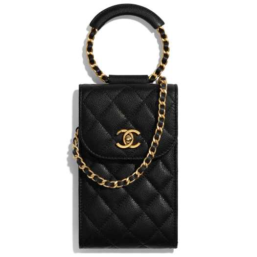 CHANEL Phone Holder with Chain $2,840