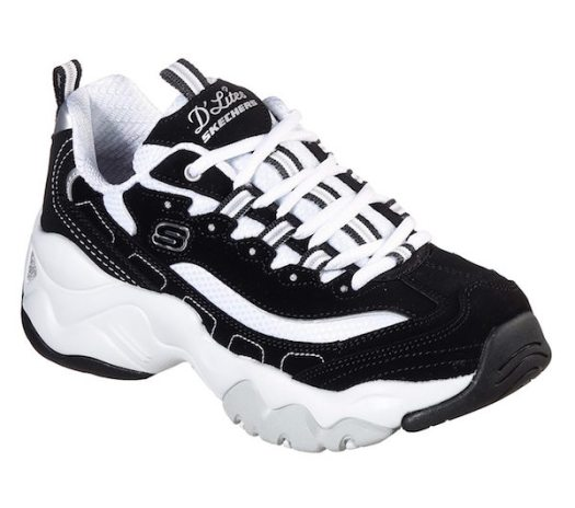 Skechers Men's D'lites 3.0 in Black, $45