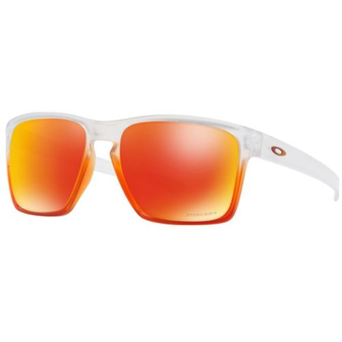OAKLEY TRILLBE X PRIZM IN TRANSPARENT RED, $141