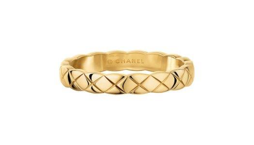 CHANEL COCO CRUSH Mini Ring in 18K Yellow Gold $1,800