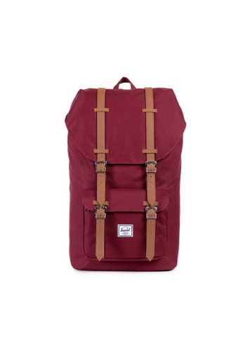 Herschel Little America Backpack in Windsor Wine, $125.93