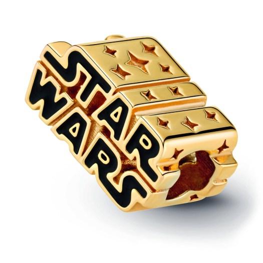 Star Wars x Pandora - Star Wars Shining 3D Logo Charm ($129)