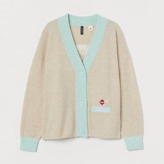 Embroidered Cardigan S$49.95