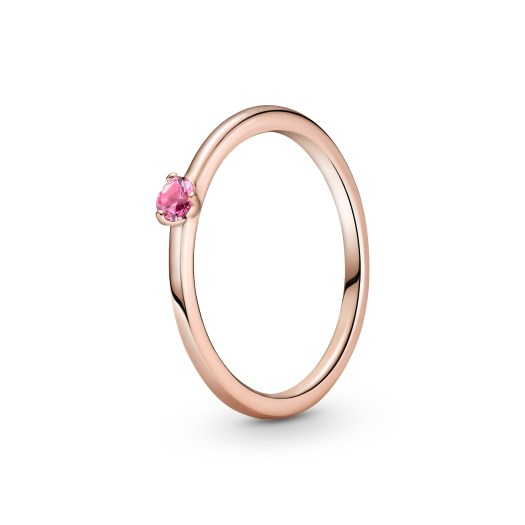 Pink Solitaire Ring ($69)