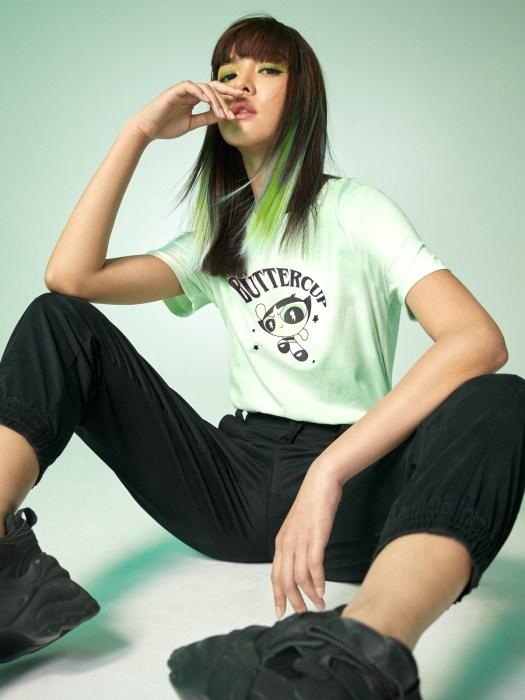 The Powerpuff Girls™ Buttercup Graphic T-Shirt - Green ($24)