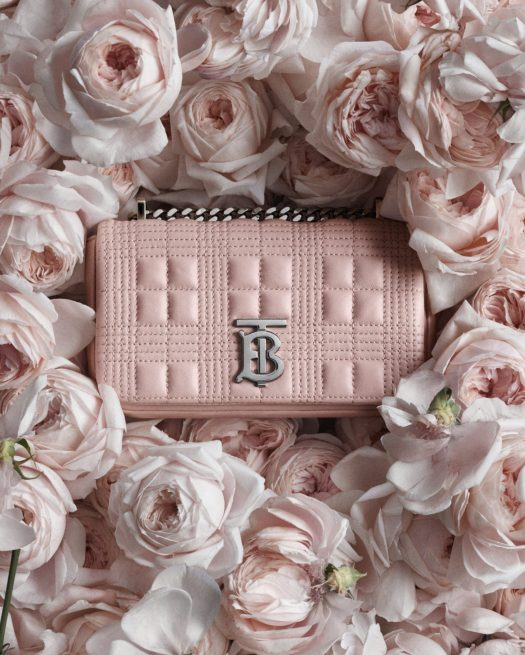 BURBERRY SMALL QUILTED LAMBSKIN LOLA BAG, $2,650 | A runway style for the rare date night — why not? Burberry's softly structured Lola bag was a hit the moment it hit stores, since it features classic quilts modernised with a chain shoulder strap and the Thomas Burberry Monogram. There's also bucket hats, cashmere scarves, sneakers, and small leather goods across the British brand's Valentine's Day collection.