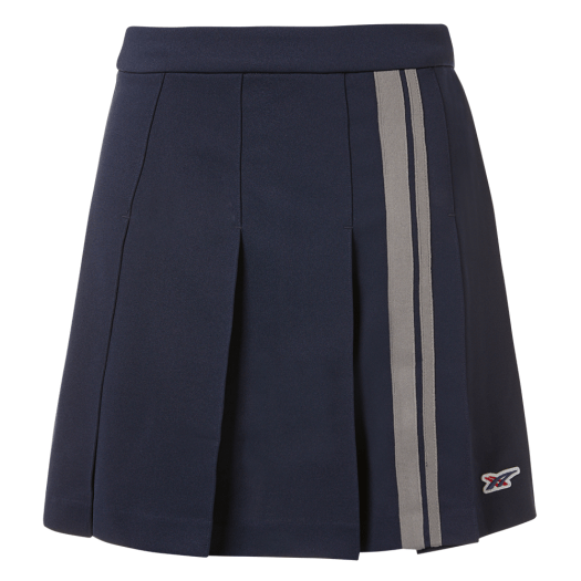 WS Heritage Pleated Skirt in Navy
