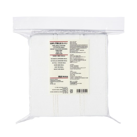 Peelable Cotton (162 Sheets), $8.90