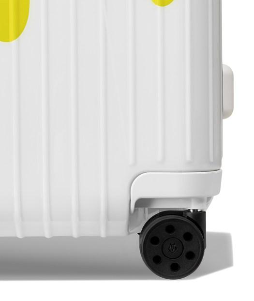 Essential Cabin in Saffron White — Close-up