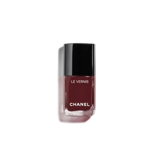 LE VERNIS in 907 Rouge Brun —A blood chocolate ($42)