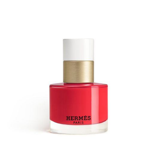 46 Rouge Exotique — Vivid and luminous, the brightness of a freshly-picked watermelon in an endless, sun- drenched summer. A pure red with a hint of pink.