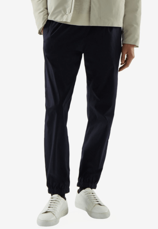 Relaxed-Fit Cuffed Pants, $115