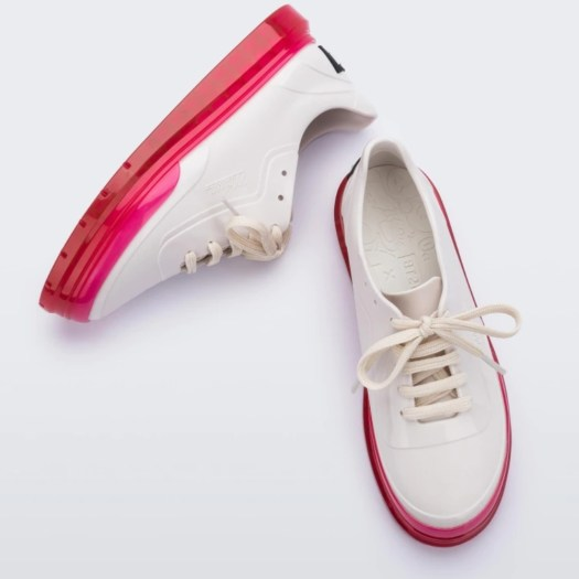 Melissa Classic Sneaker + BT21 in White, $165