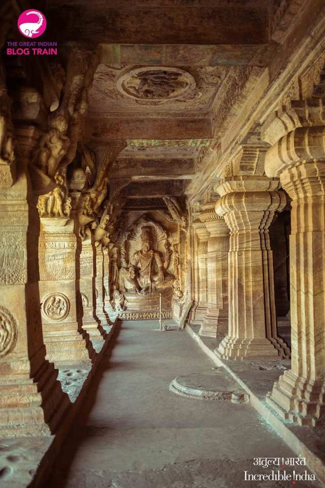 Golden Chariot Amazing Luxury Train Journey Pattadakal and Badami cave temples