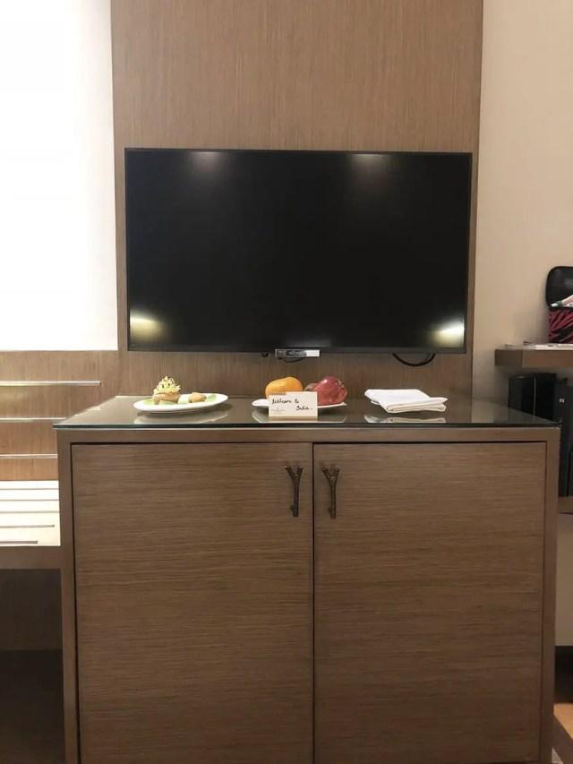 Welcom Hotel ITC Hotel bengaluru tv