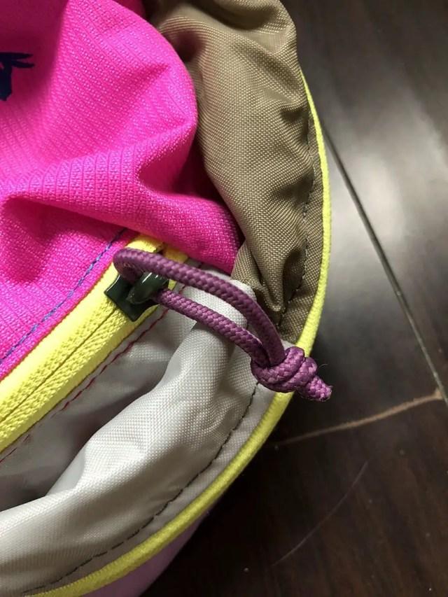 best carry on daypack for international travel for women - zipper