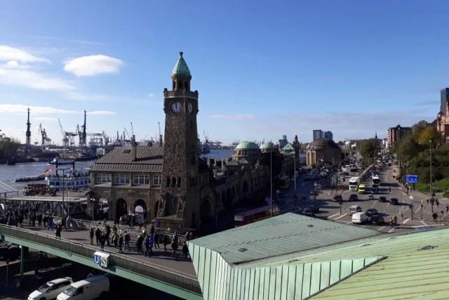 Coolest Things to do in Hamburg Germany - The St. Pauli Landungsbrücken