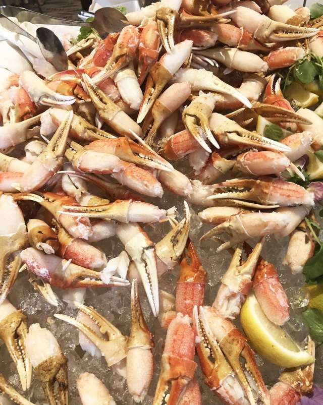 Luxe Sunset Boulevard Hotel - Easter Brunch Buffet - Crab Claws