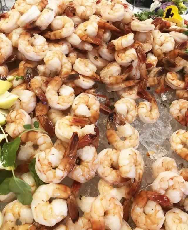 Luxe Sunset Boulevard Hotel - Easter Brunch Buffet - Shrimp