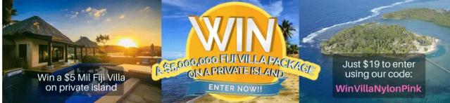 Win a Fiji Villa