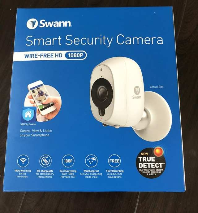 Swann Smart Security Camera Wireless 1080 Packaging Front