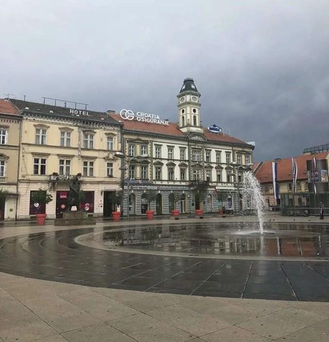 Osijek Itinerary trg ante starčevića