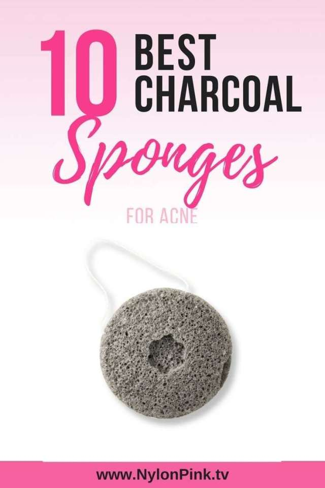 10 Best Charcoal Sponges for Acne - pinterest