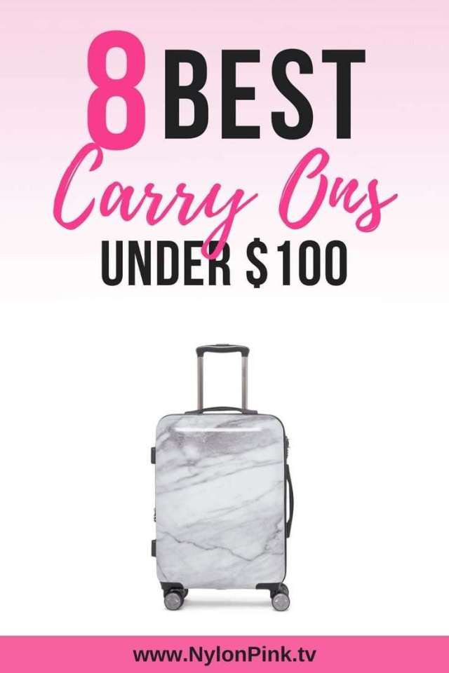 8 Best carry ons under 100 - Pinterest