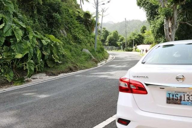 Driving from San Juan to El Yunque - Enterprise