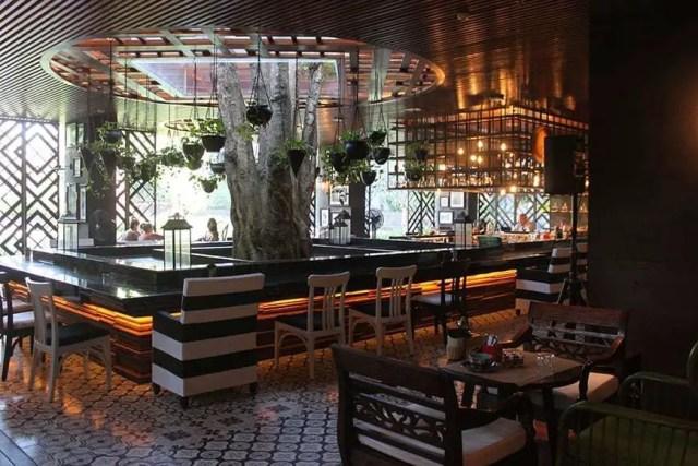 hotel indigo bali seminyak beach - drinking bar