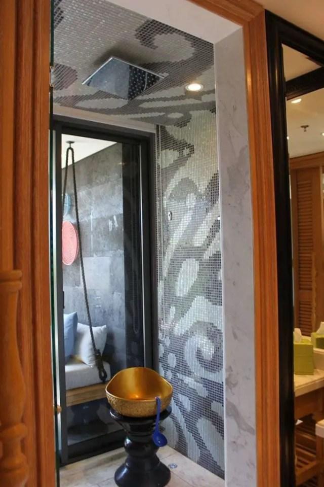 hotel indigo bali seminyak beach - shower