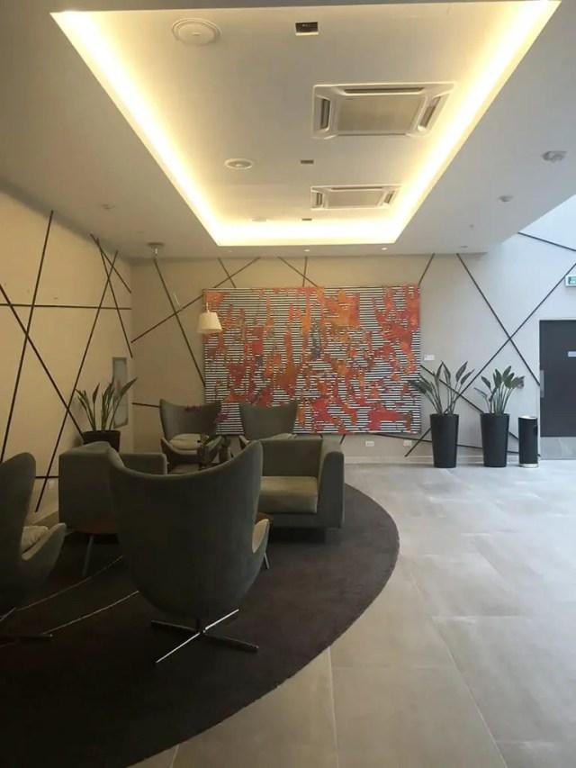 Novotel hotel san isidro lima Peru - lobby