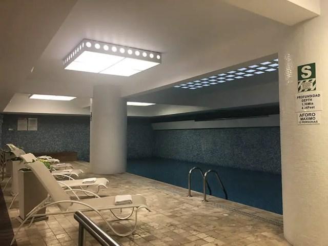 Novotel hotel san isidro lima Peru - pool