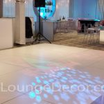 Laminate White Dance Floor