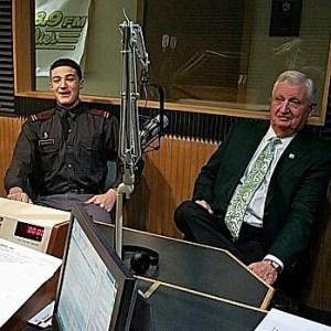Cadet Avaras On-Air on Fox Radio