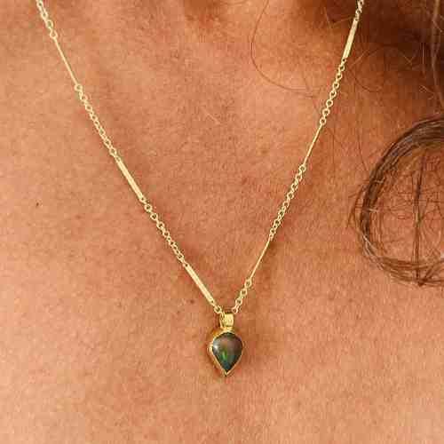 Collier Opale de Feu Nynybird