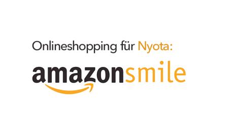 Nyota über smile.amazon.de unterstützen