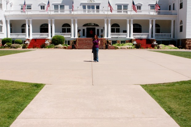 Laura Pennace at the Stanley Hotel