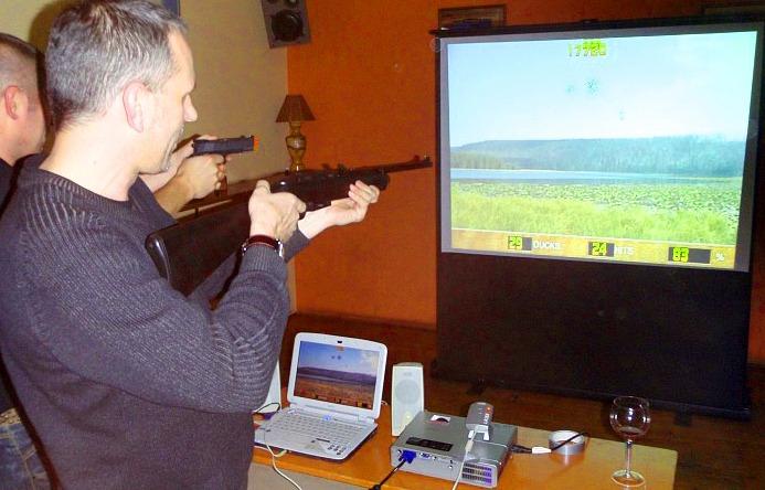 Laser Shot Simulator Virtual Reality Rentals