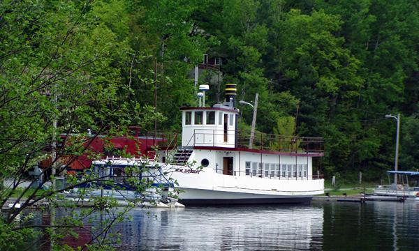 NY Route 28 Central Adirondack Trail Raquette Lake